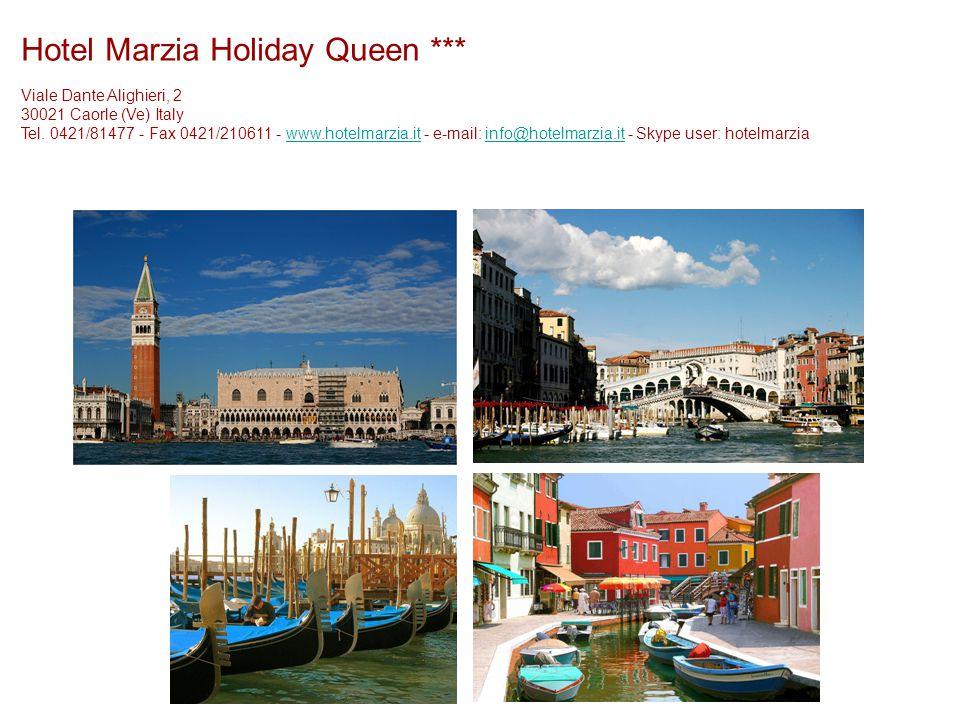 Viale Dante Alighieri, 2 30021 Caorle (Ve) Italy Tel.
