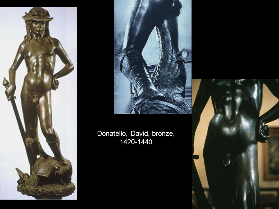 Donatello, David, bronze, 1420-1440