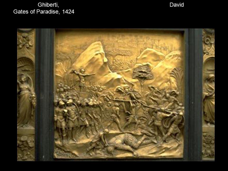David Ghiberti, Gates of Paradise, 1424