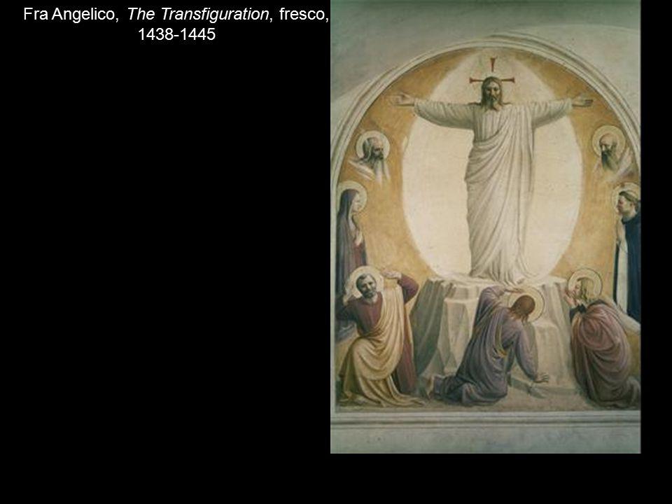 Fra Angelico, The Transfiguration, fresco, 1438-1445