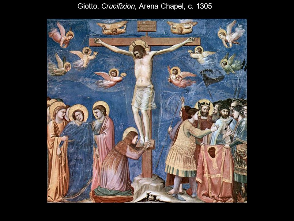 Giotto, Crucifixion, Arena Chapel, c. 1305