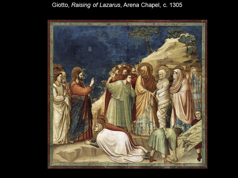 Giotto, Raising of Lazarus, Arena Chapel, c. 1305