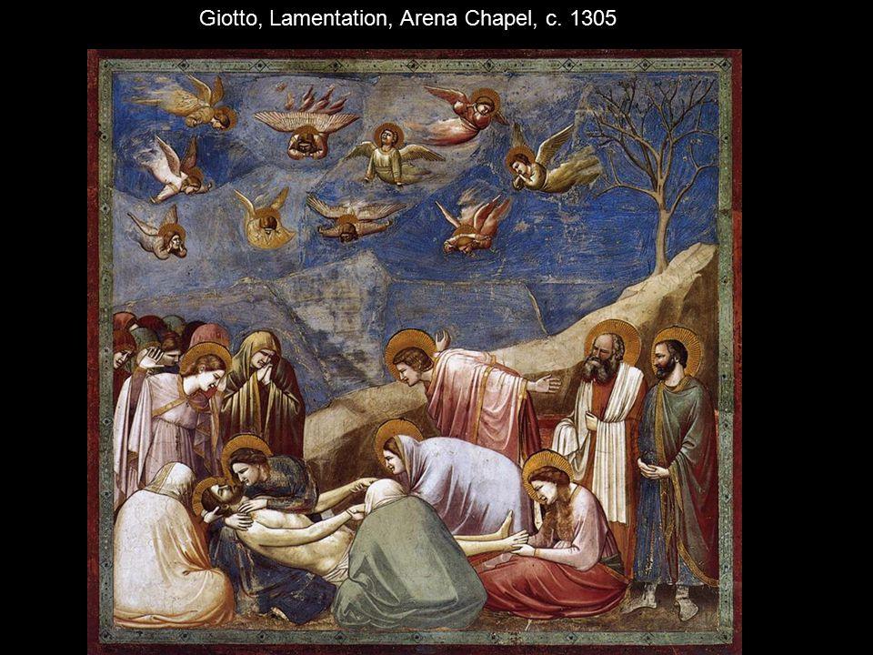 Giotto, Lamentation, Arena Chapel, c. 1305