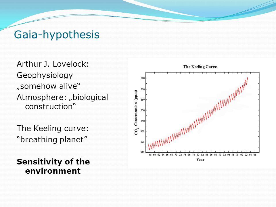 Gaia-hypothesis Arthur J.