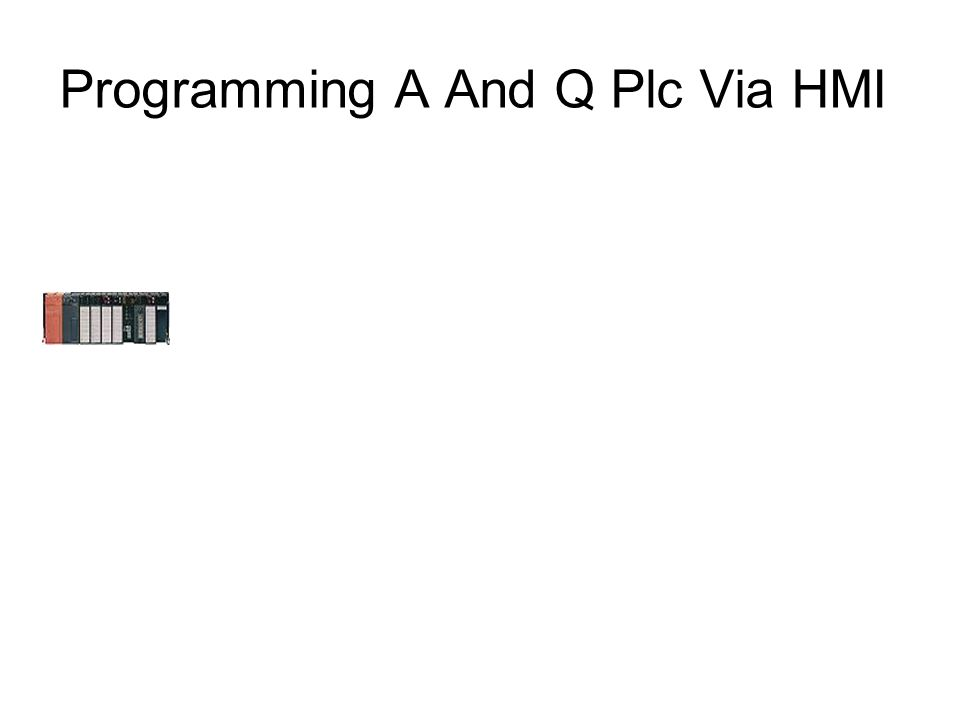 Programming A And Q Plc Via HMI Step 6 Connect The Modems To The Telephone Network