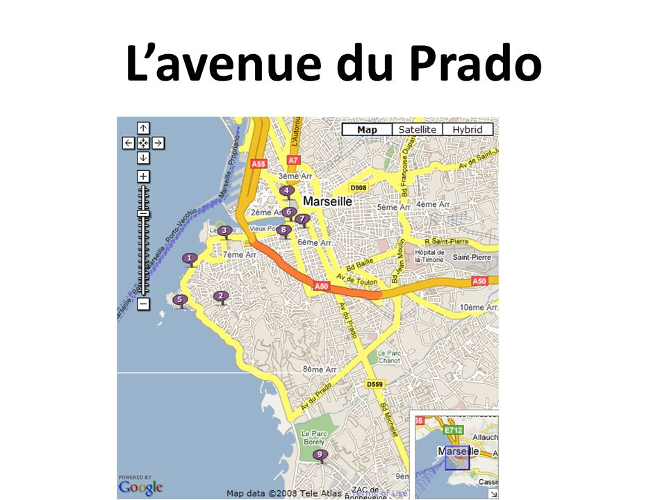 L'avenue du Prado
