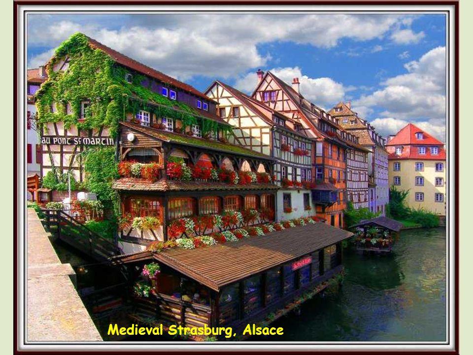 Medieval Petite France, Strasburg