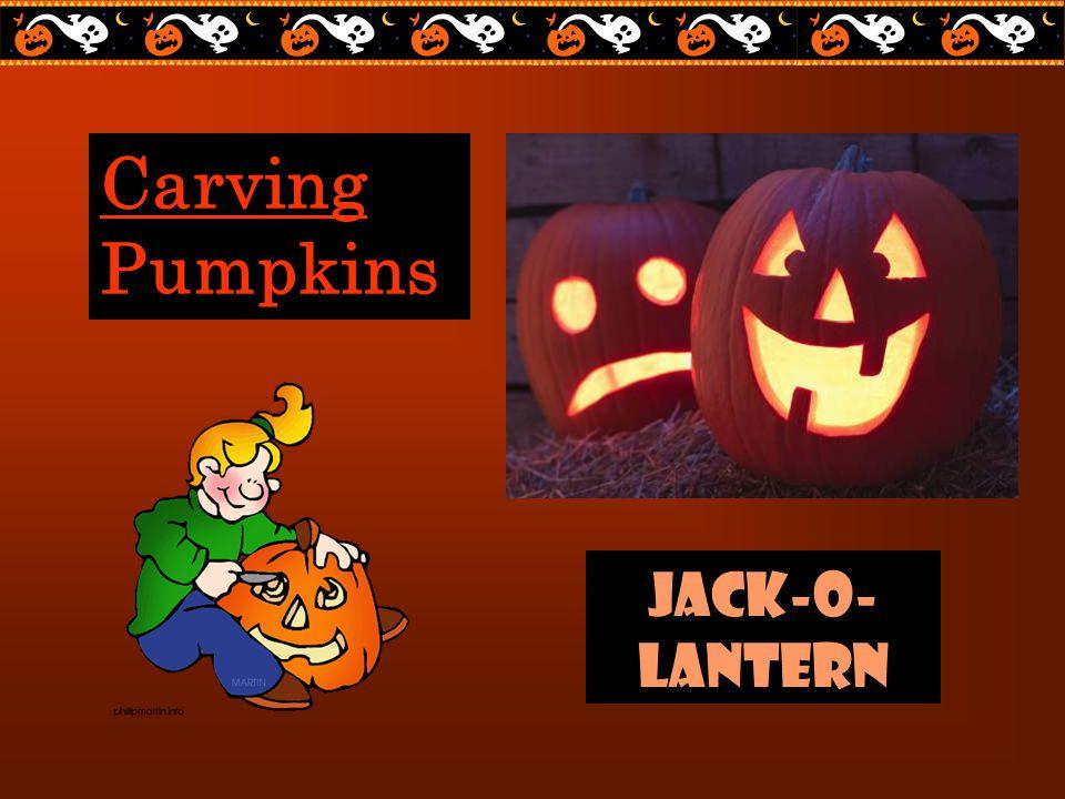 Carving Pumpkins Jack-o- lantern