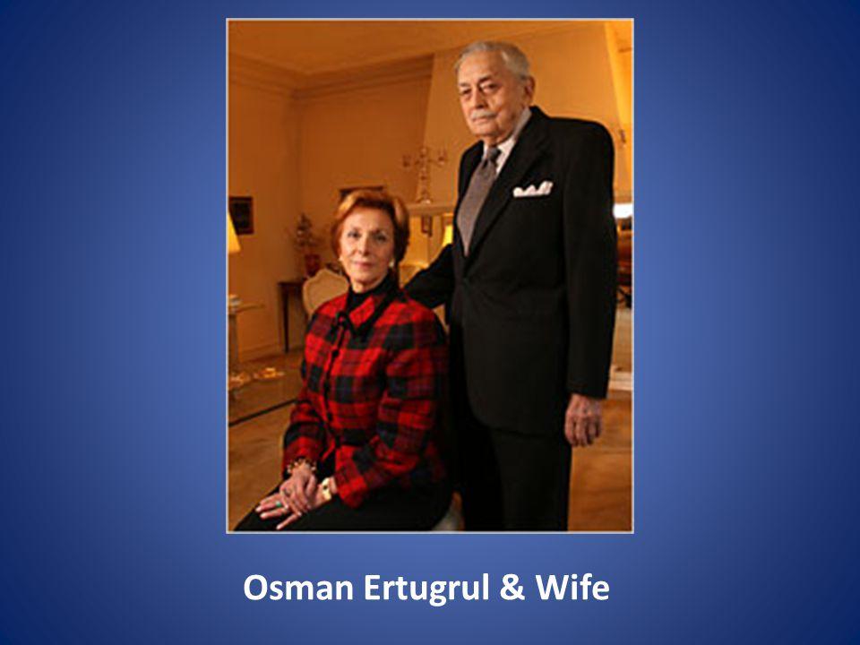 Osman Ertugrul & Wife