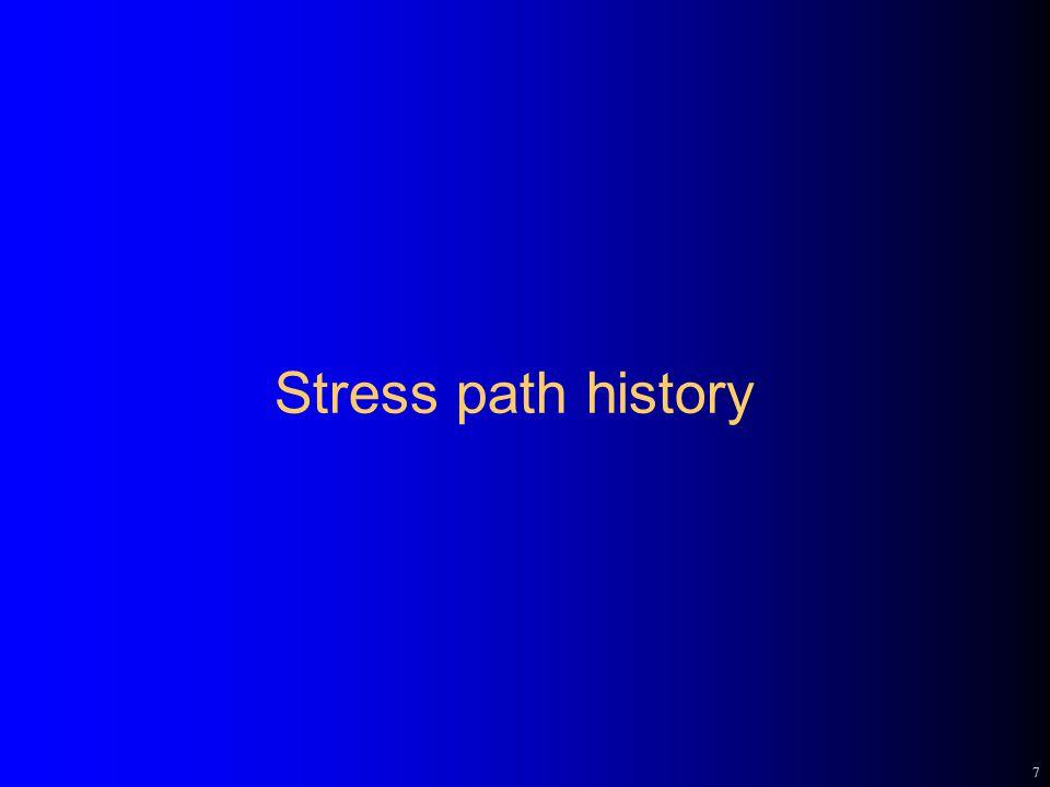 7 Stress path history