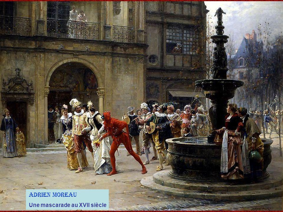 Adrien Moreau Une mascarade au XVII siècle