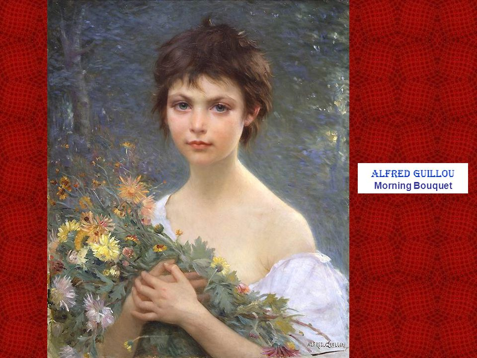 Alfred Guillou Morning Bouquet