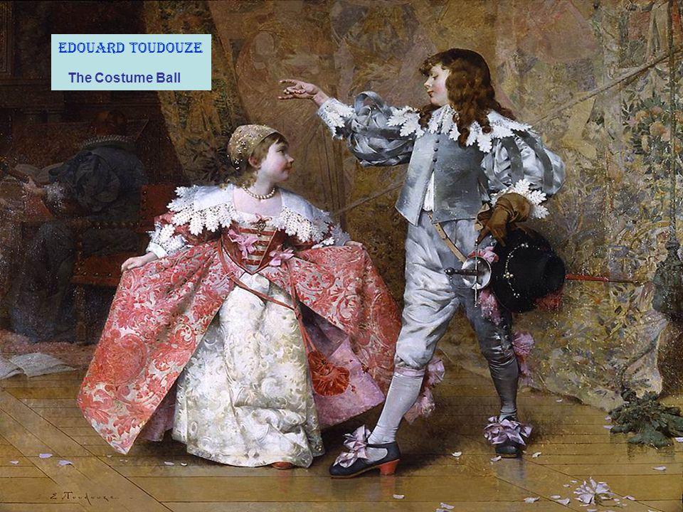 Edouard Toudouze The Costume Ball