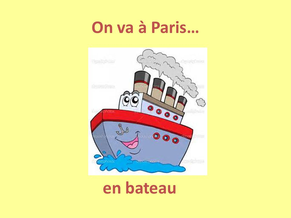 On va à Paris… en bateau