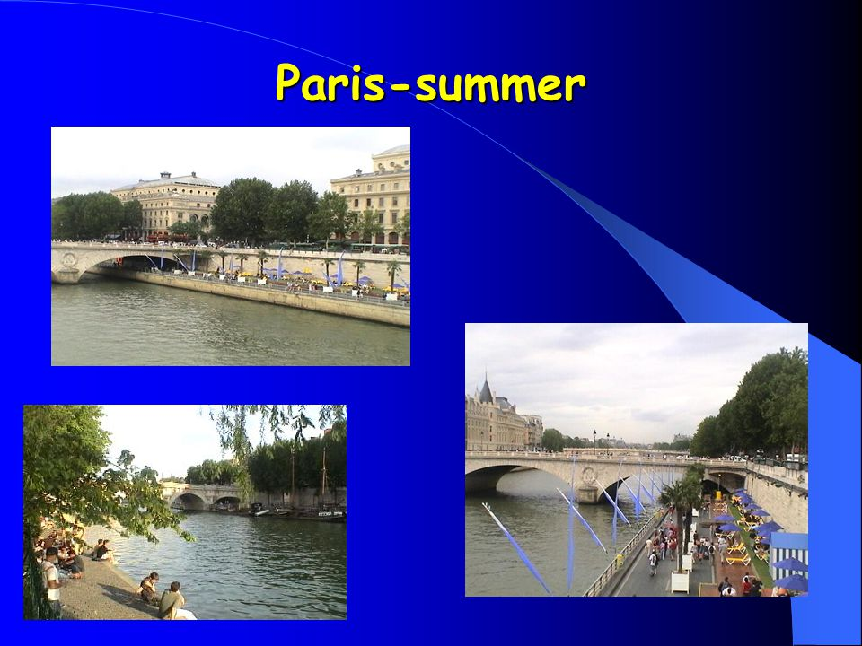 Paris-summer
