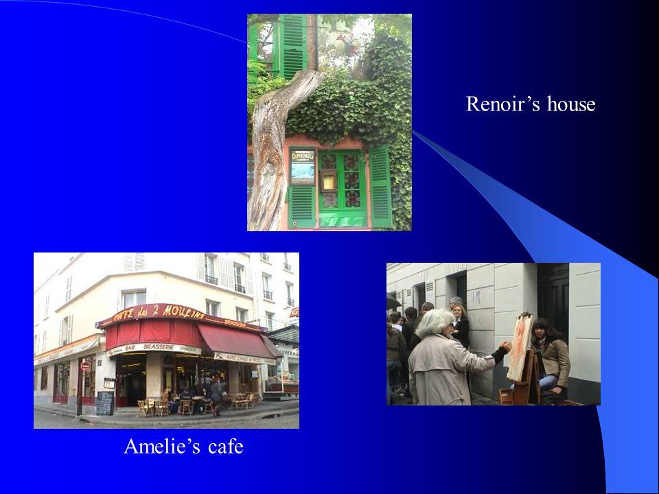 Renoir's house Amelie's cafe