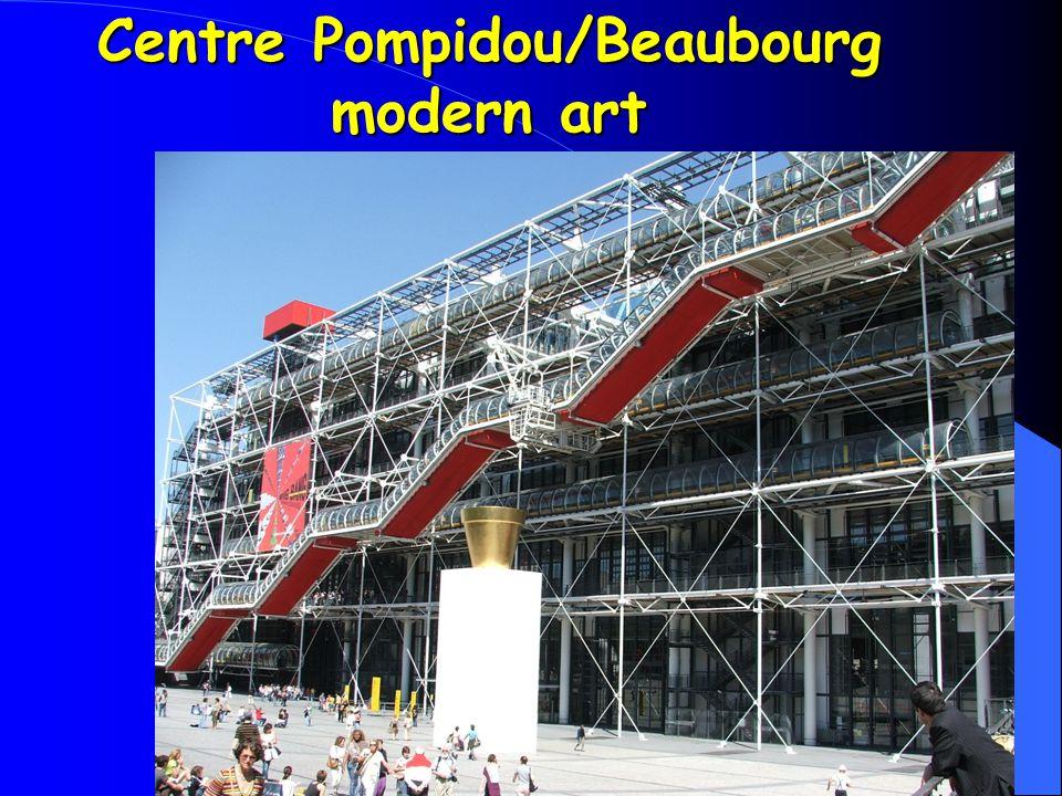 Centre Pompidou/Beaubourg modern art