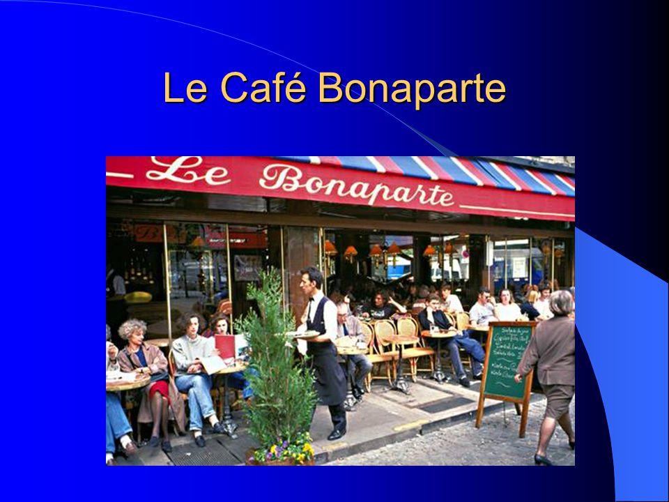 Le Café Bonaparte