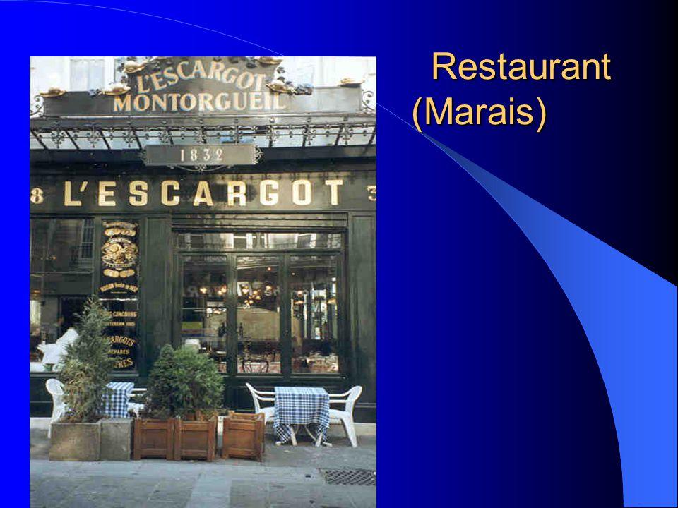 Restaurant (Marais) Restaurant (Marais)