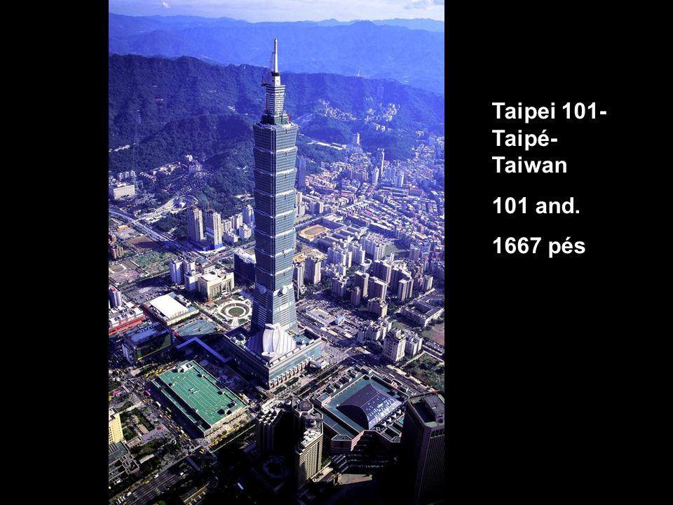Taipei 101- Taipé- Taiwan 101 and. 1667 pés