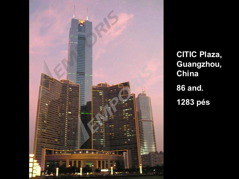 CITIC Plaza, Guangzhou, China 86 and. 1283 pés