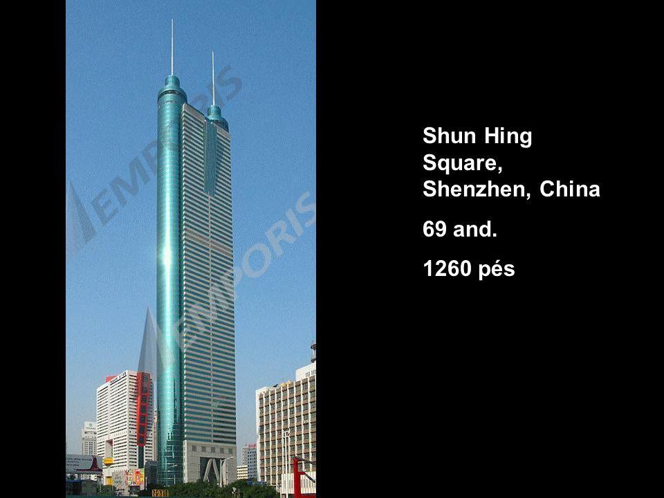 Shun Hing Square, Shenzhen, China 69 and. 1260 pés