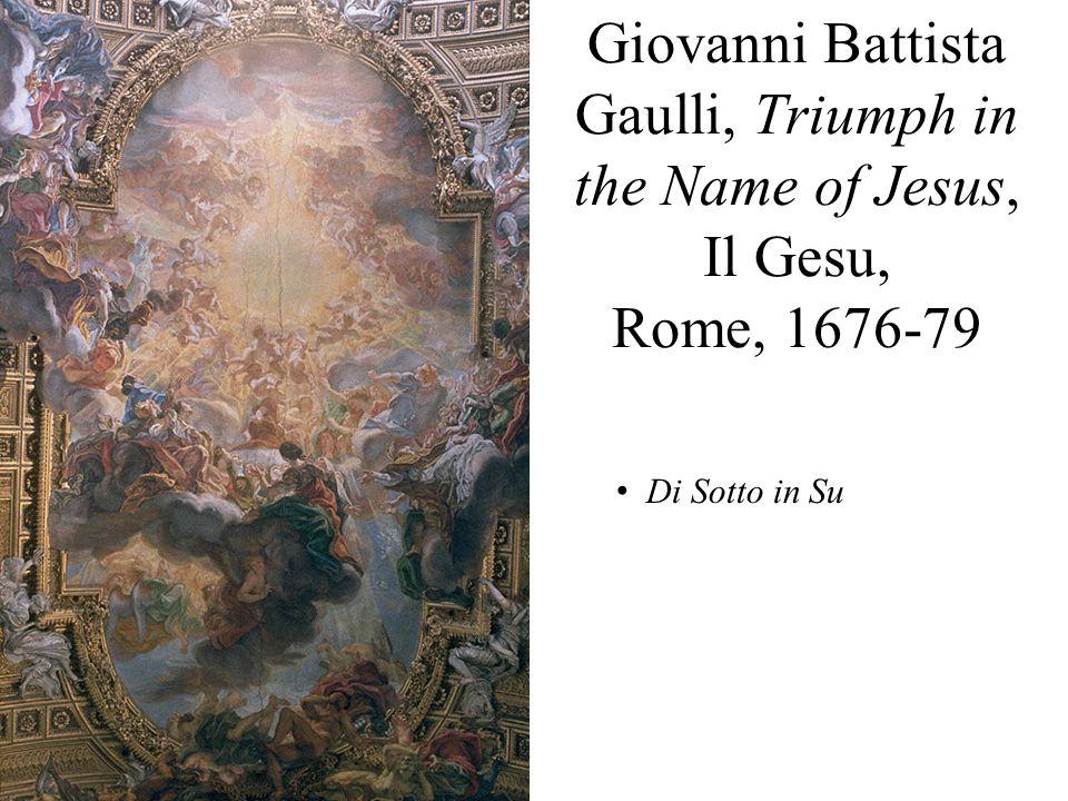 Fra Andrea Pozzo, Glorification of St. Ignatius, Sant'Ignazio, Rome, 1691-94