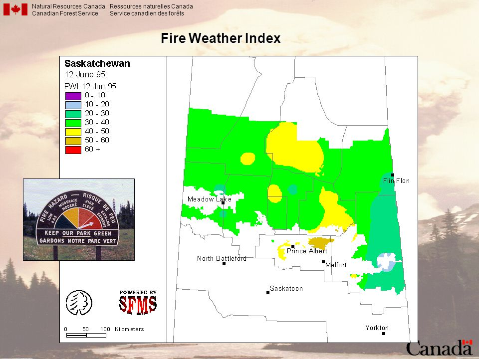Natural Resources Canada Canadian Forest Service Ressources naturelles Canada Service canadien des forêts Fire Weather Index