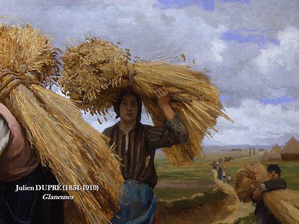 Georges LAUGÉE (1853-c. 1928) À l'approche du grain Georges LAUGÉE (1853-c.