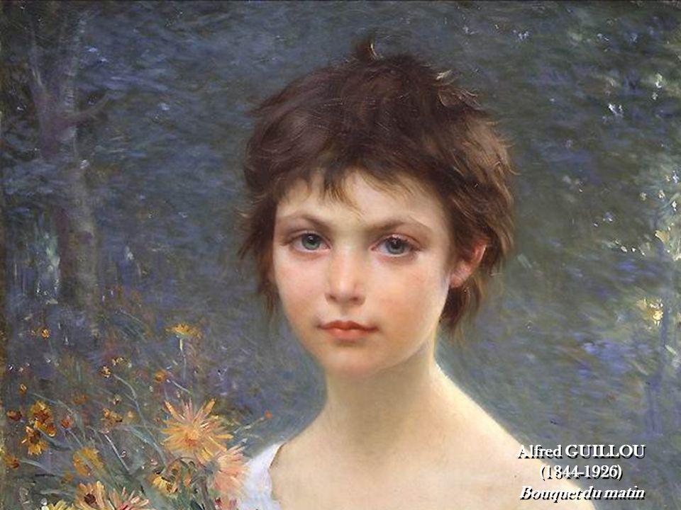 2 2 Alfred GUILLOU (1844-1926) Bouquet du matin