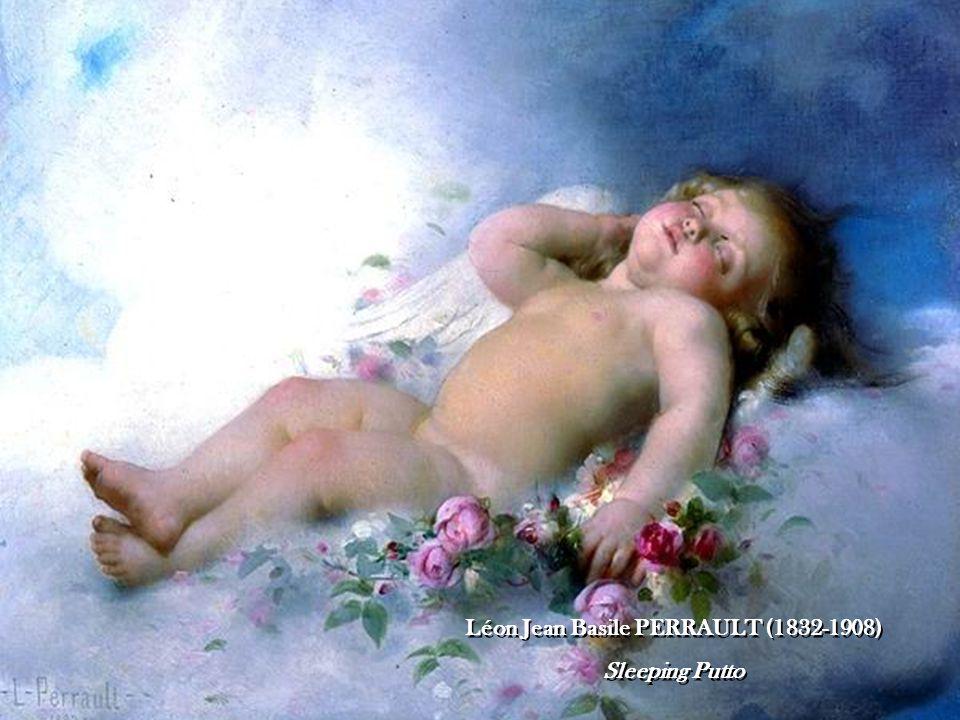 Léon Jean Basile PERRAULT (1832-1908) Sleeping Putto Léon Jean Basile PERRAULT (1832-1908) Sleeping Putto