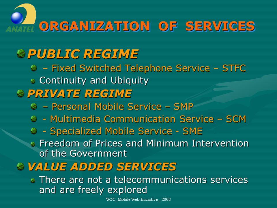 W3C_Mobile Web Iniciative _ 2008 Nelson Mitsuo Takayanagi Superintendência de Serviços Privados SAS Q.