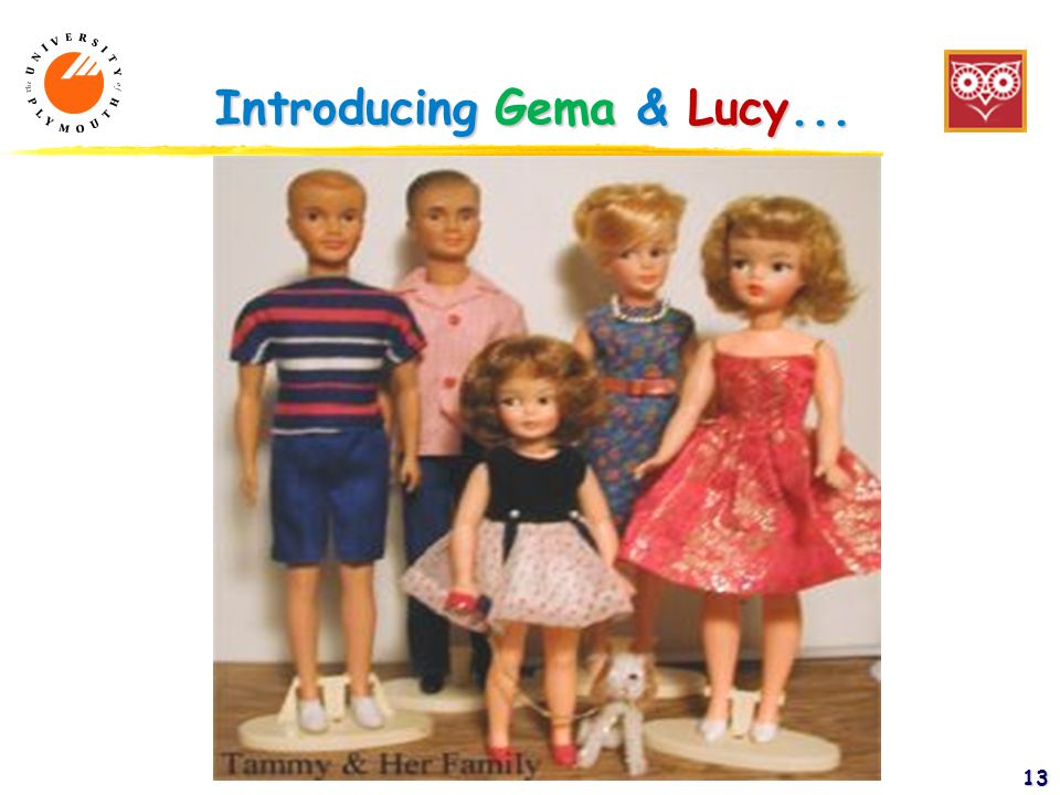 13 Introducing Gema & Lucy...