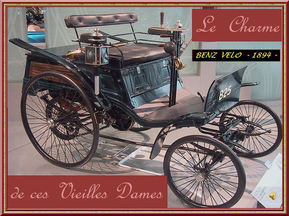 Le Charme de ces Vieilles Dames BENZ VELO - 1894 -
