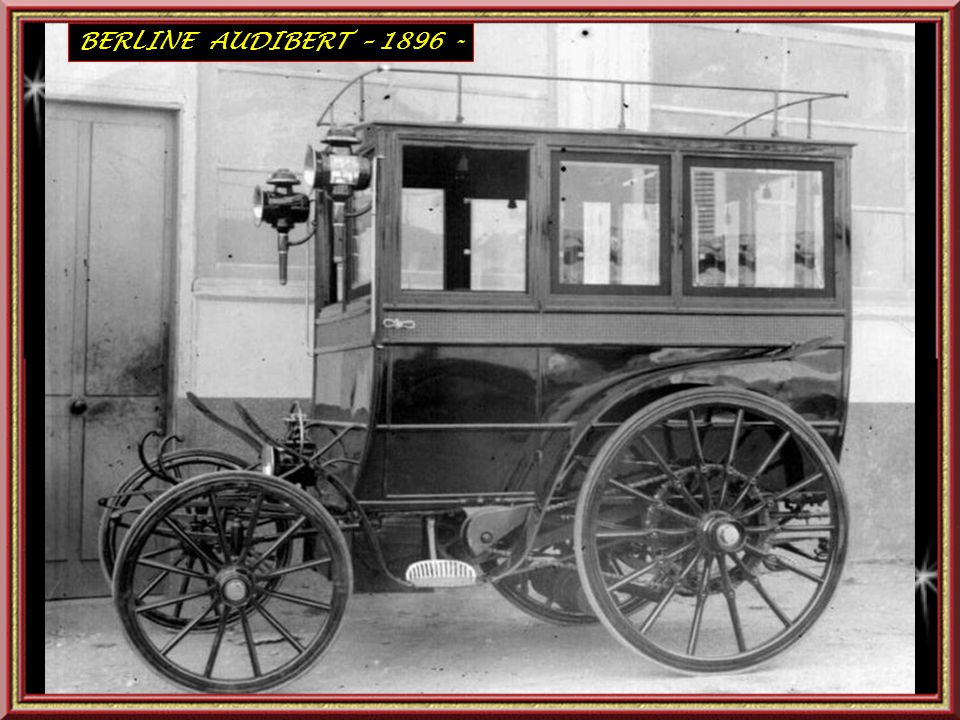 BERLINE AUDIBERT – 1896 -