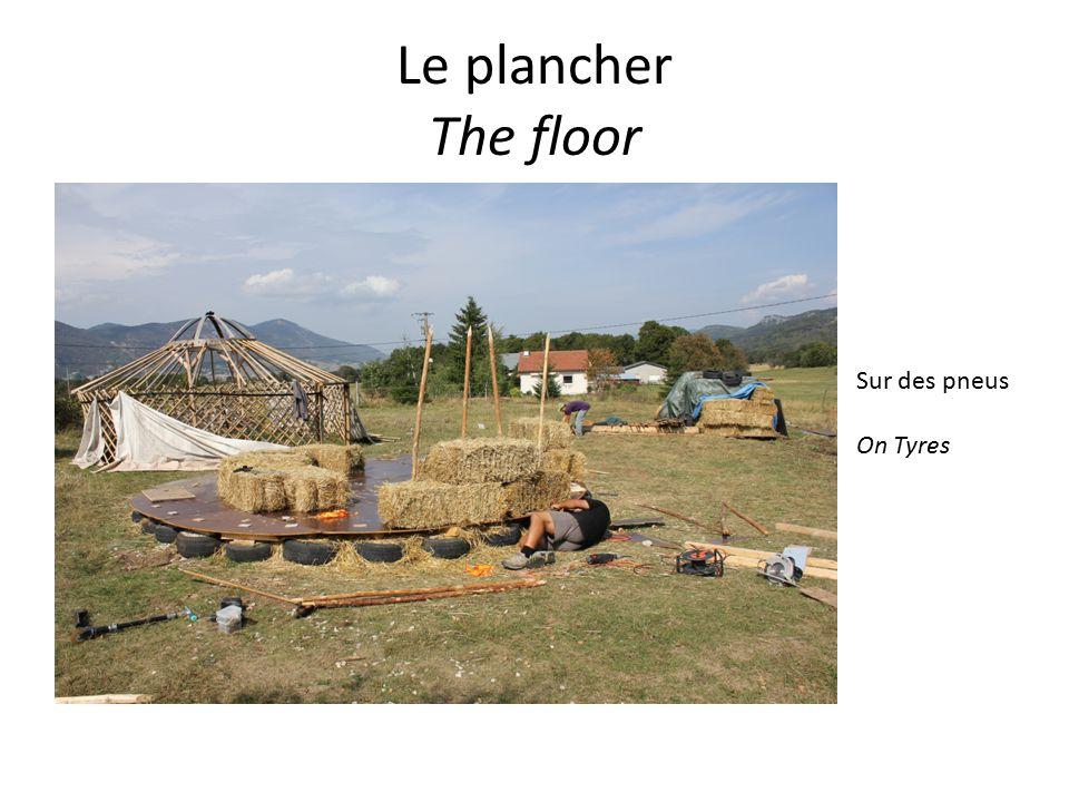 Le plancher The floor Sur des pneus On Tyres