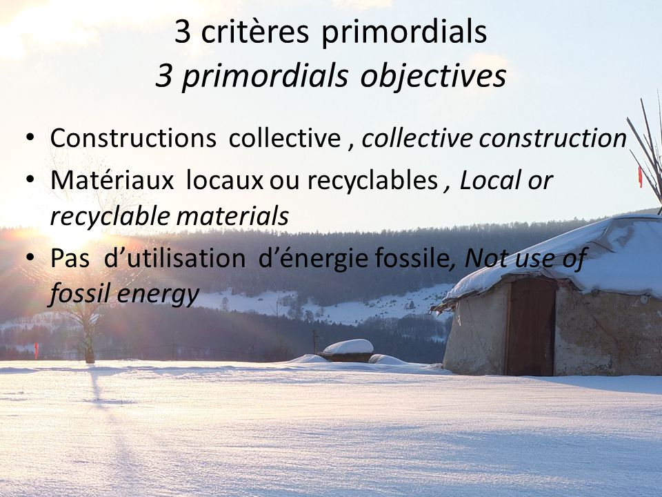 Et l'hiver… And the winter… … Attention à fermer la porte ! … Be carefull to close the door !