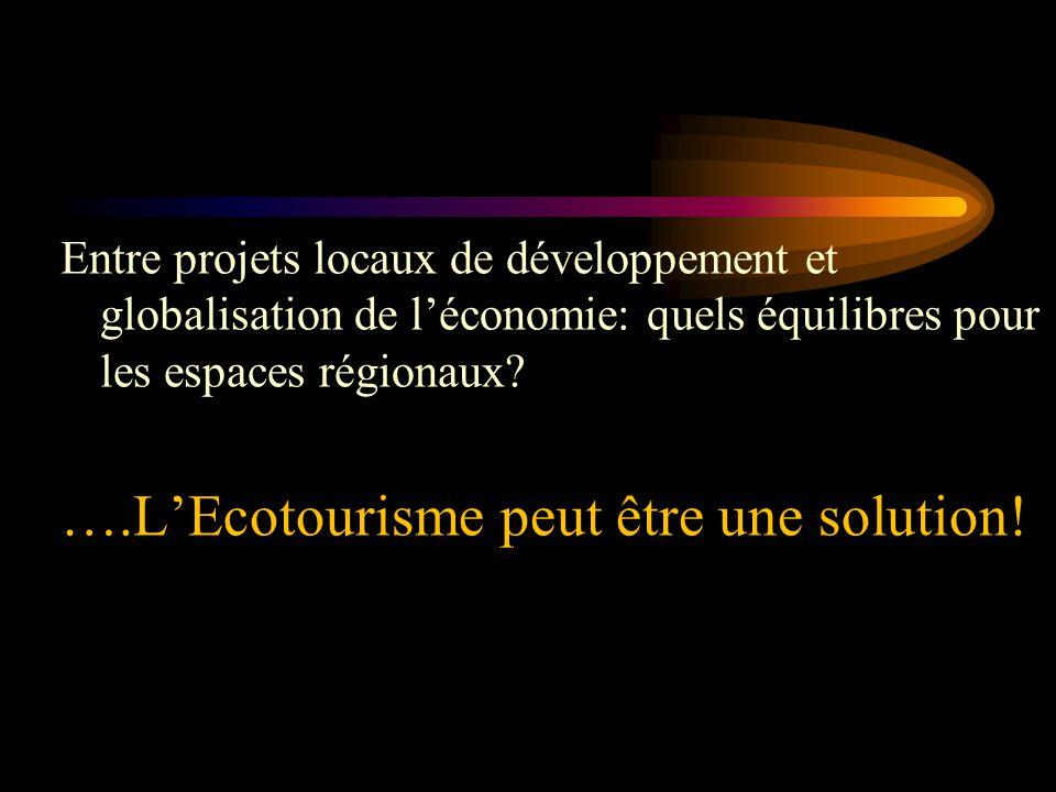 Les défis de l'écotourisme face au développement territorial durable par Arq.