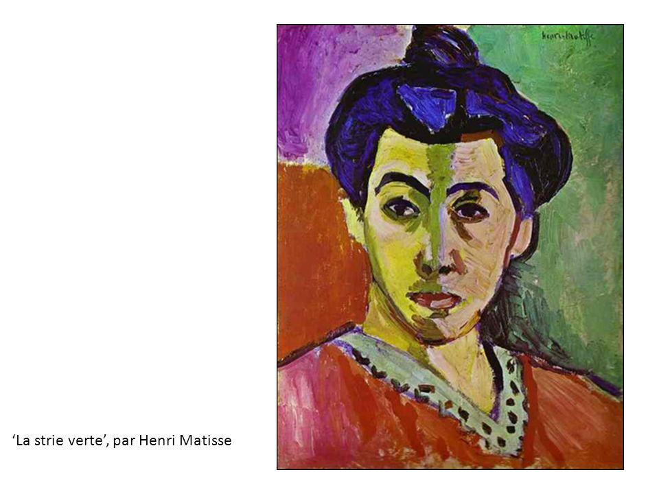 'La strie verte', par Henri Matisse