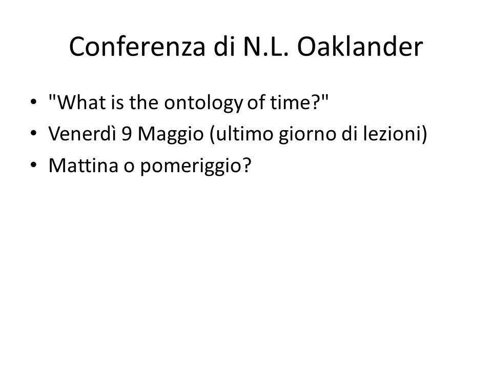 Conferenza di N.L.