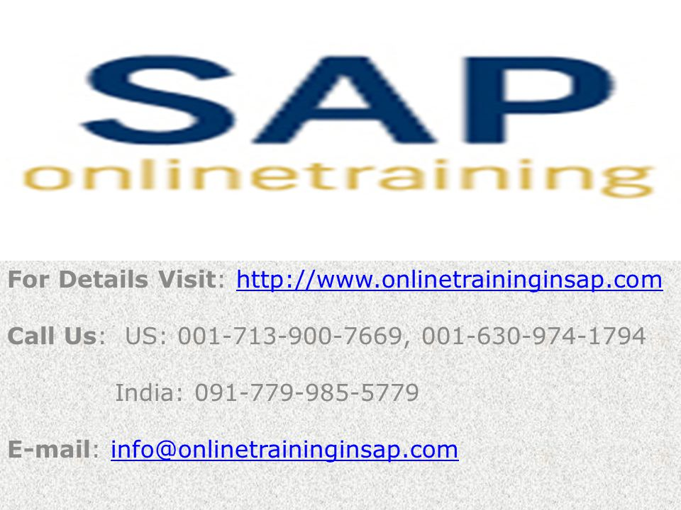 SAP FICO Online Training and Placement – Online Training in SAP SAP FICO Course Content 2.2 Posting Period Define Posting Period Variant Assign Posting Period Variant to company code Define Open and Close Posting periods 2.3 Document Define Document Types and Number Ranges 2.4 Account Group and Retained Earning Account Define Account Group and Retained Earning Account 2.5 Field Status Variant Maintain Field Status Variant Assign Field Status Variant to Company Code