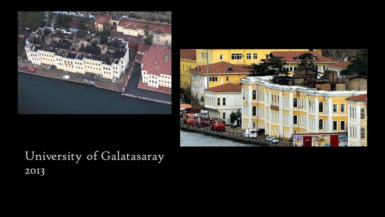 University of Galatasaray 2013