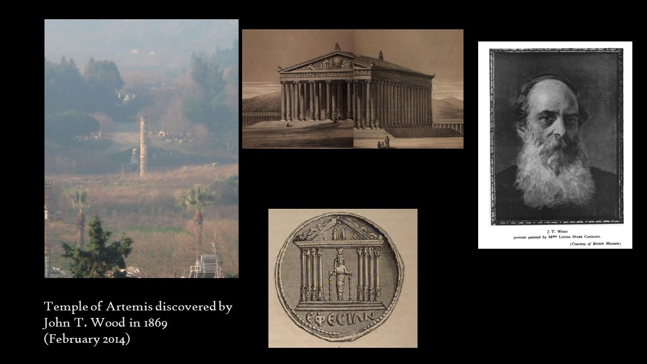 Temple of Artemis discovered by John T. Wood in 1869 (February 2014)