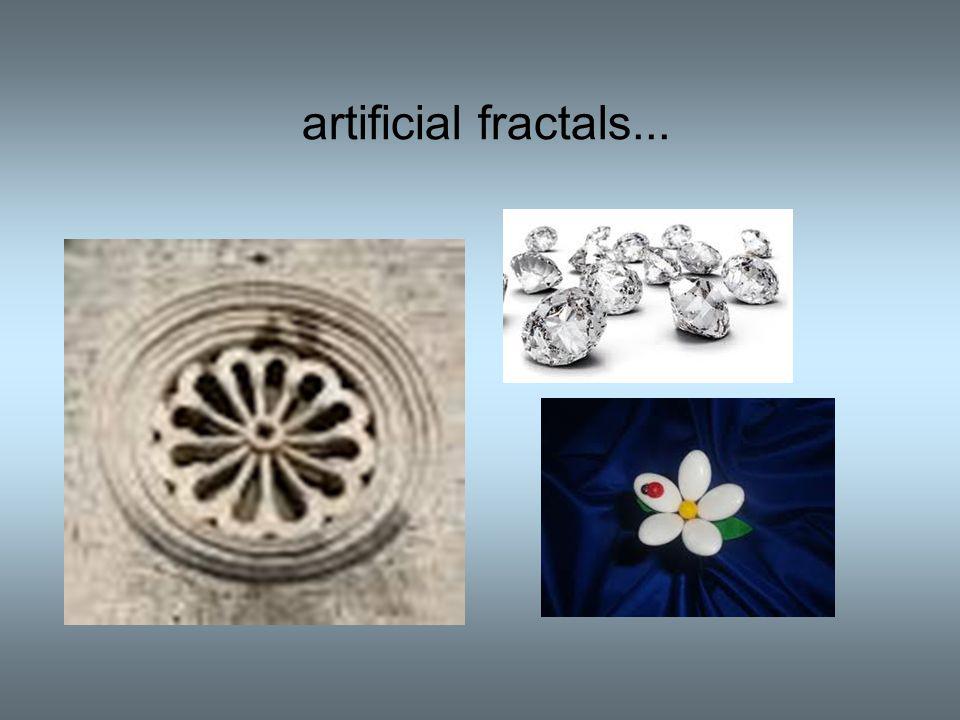 artificial fractals...