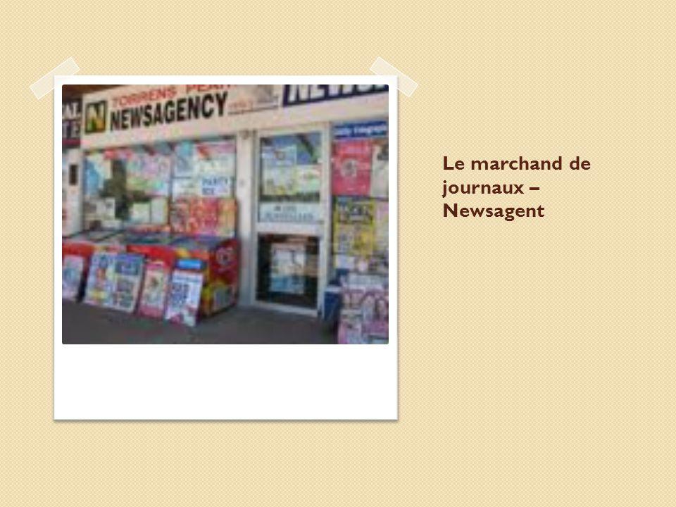 Le marchand de journaux – Newsagent