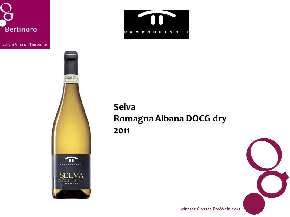Selva Romagna Albana DOCG dry 2011 Master Classes ProWein 2013