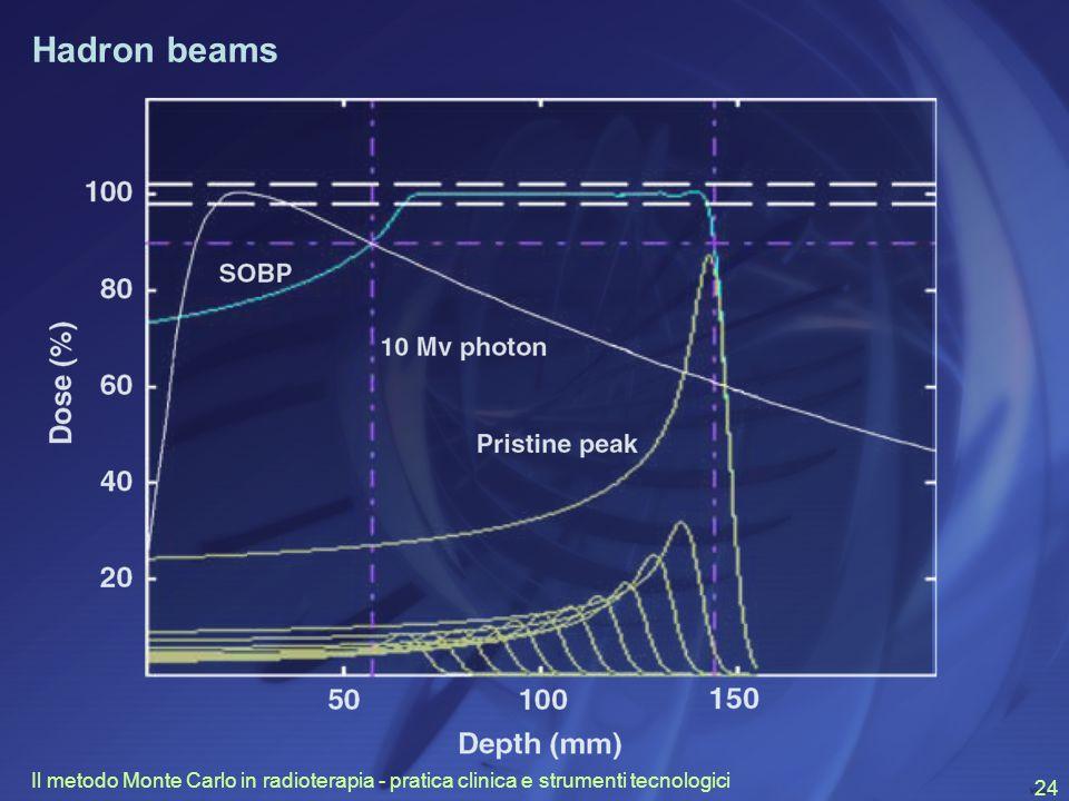 Il metodo Monte Carlo in radioterapia - pratica clinica e strumenti tecnologici 24 Hadron beams
