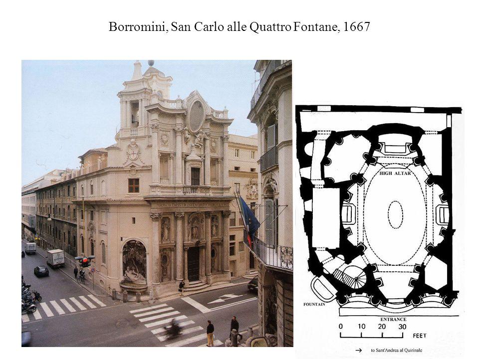 Borromini, San Carlo alle Quattro Fontane, 1667