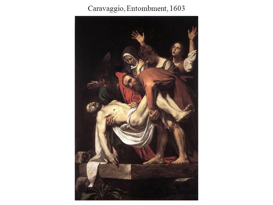 Caravaggio, Entombment, 1603