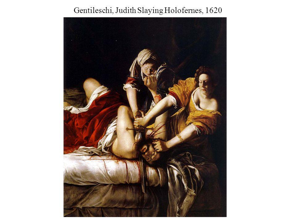 Gentileschi, Judith Slaying Holofernes, 1620